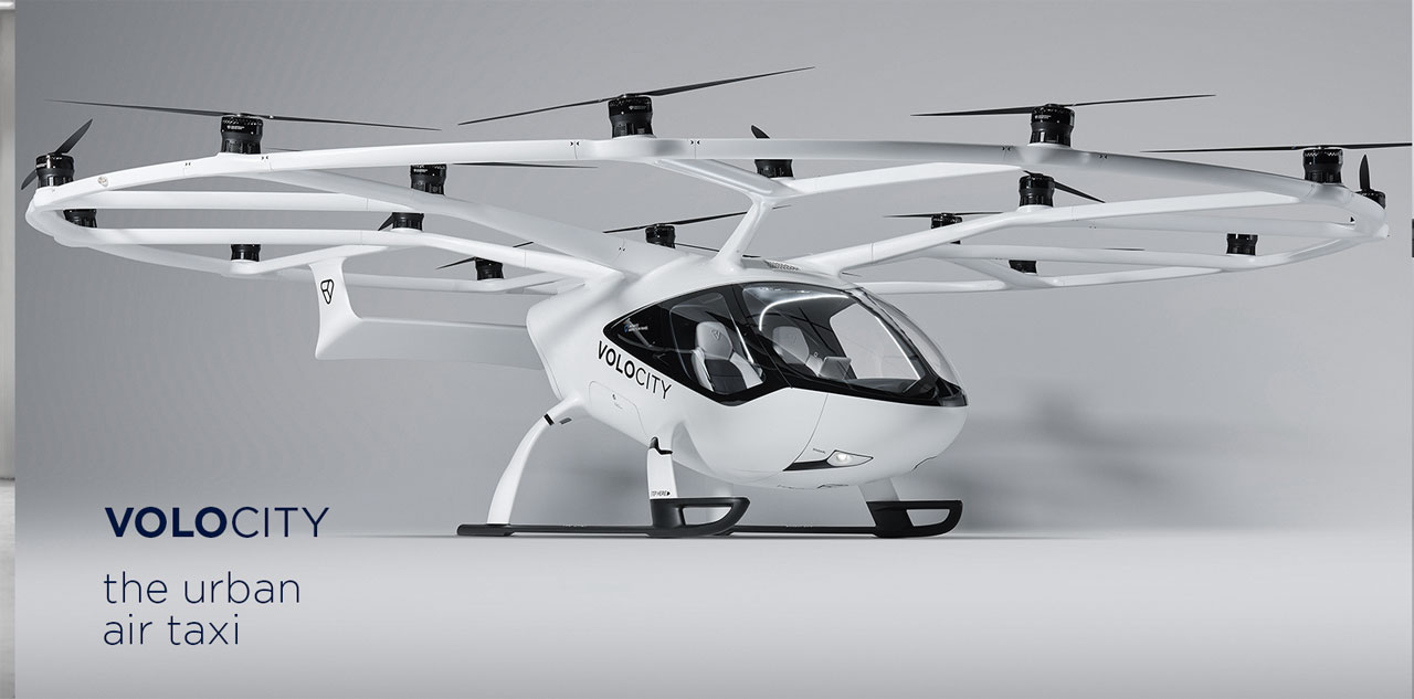 VoloConnect eVTOL rotorcraft is designed to connect cities and suburbs