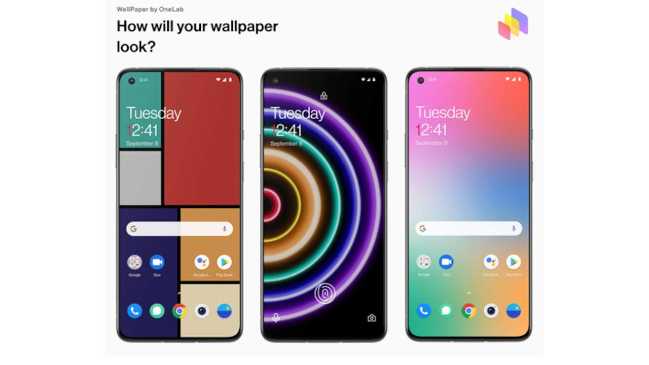 OnePlus WellPaper puts Digital Wellbeing data on your home screen