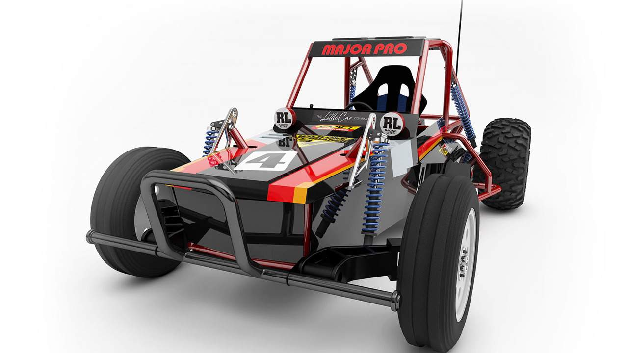 Wild One Max is an adult-sized version of an '80s RC car