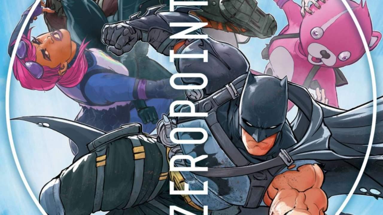 Epic just revealed all of the Batman/Fortnite comic book rewards