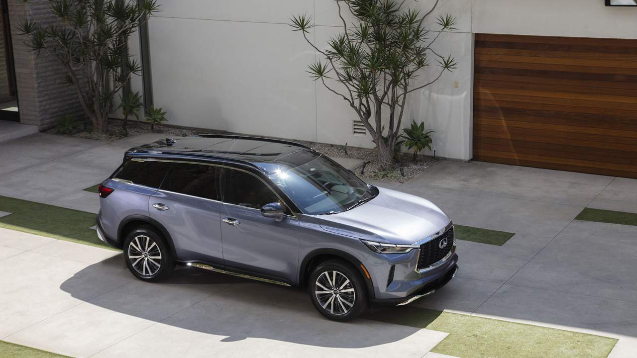 INFINITI reveals the all-new 2022 QX60 SUV launching this fall