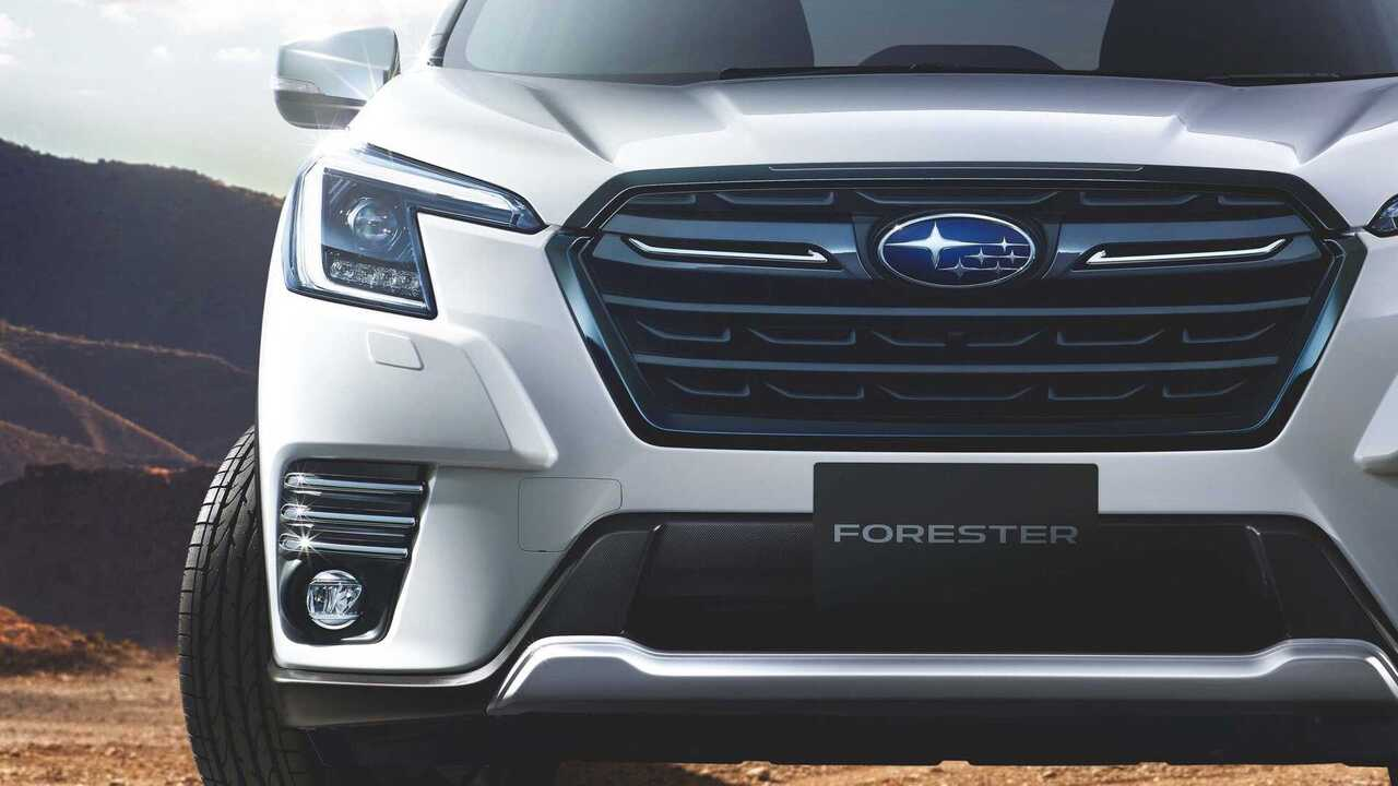 2022 Subaru Forester debuts in Japan with a mild facelift and a torquey Boxer turbo engine