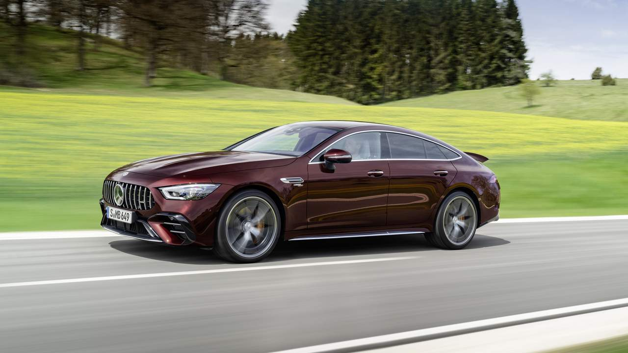2022 Mercedes-AMG GT 4-Door Coupe gets subtle updates and more custom options