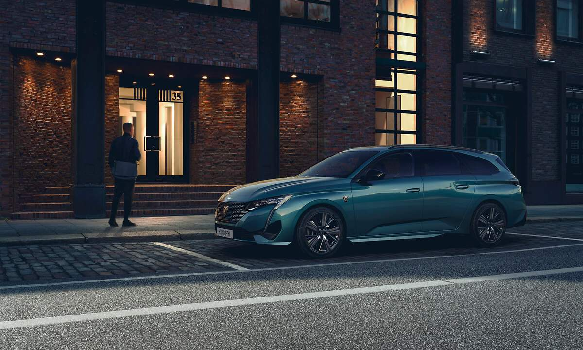 2022 Peugeot 308 SW debuts in Europe with sharper looks and optional hybrid powertrains