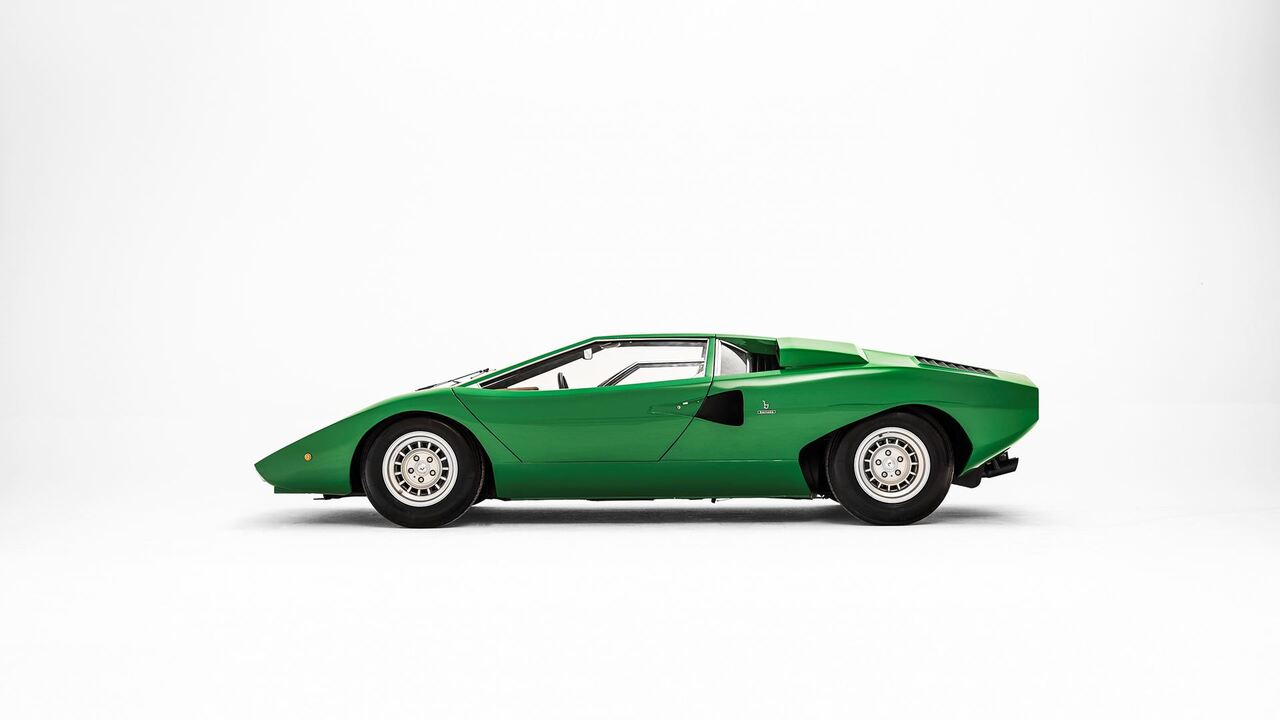 The iconic Lamborghini Countach turns 50 this year