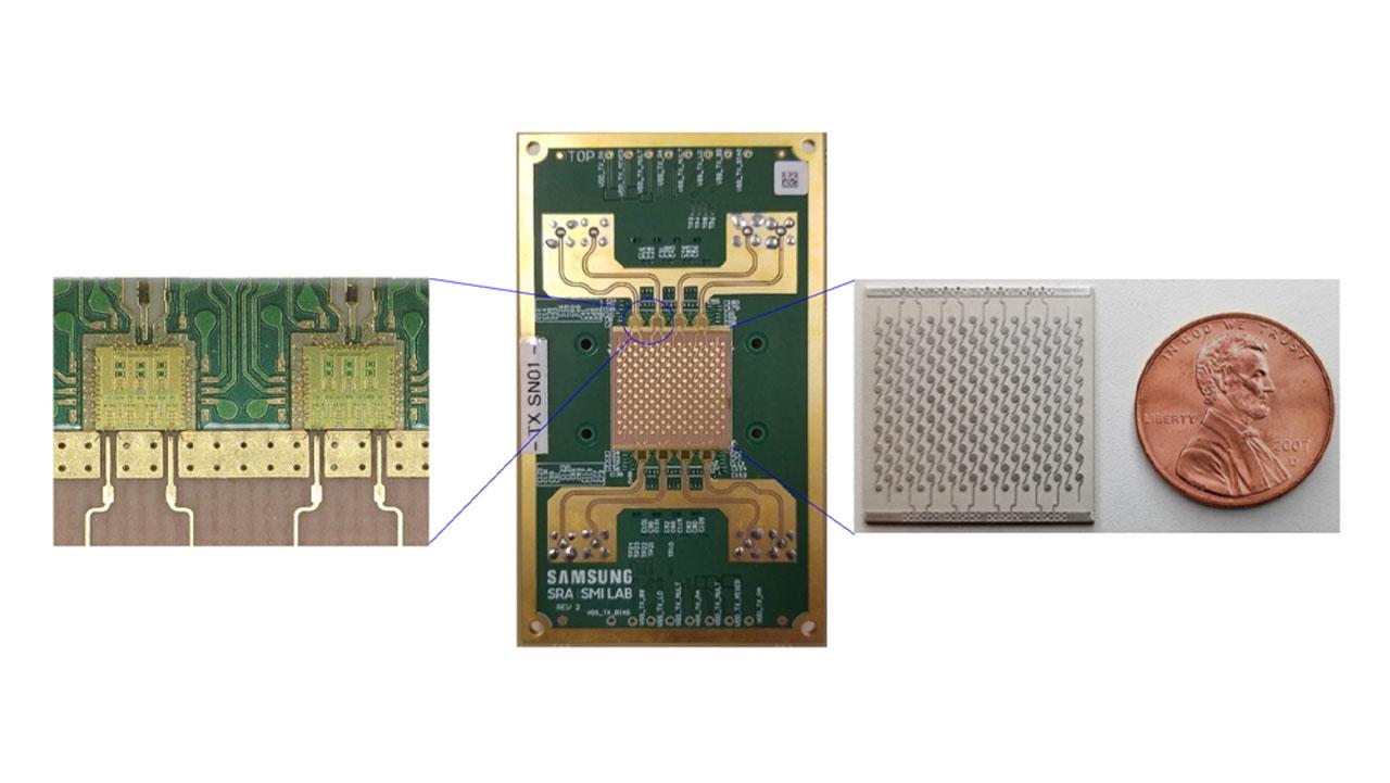 Samsung demonstrate a 6G terahertz wireless communications prototype