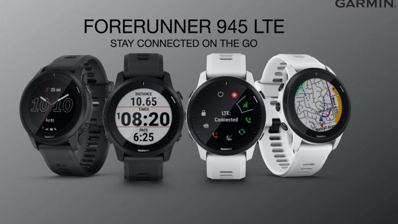 Garmin Forerunner 945 LTE and 55 launch with opposite goals