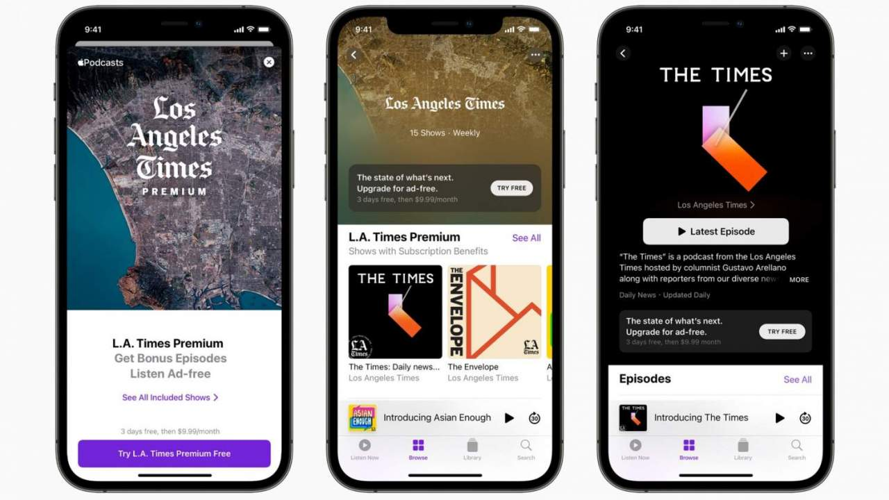 Apple Podcasts Subscriptions launch: Here's the deal
