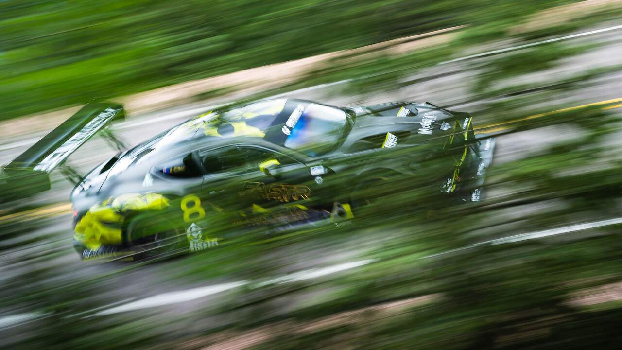 Bentley Continental GT3 finishes second overall at the Pikes Peak Hill Climb
