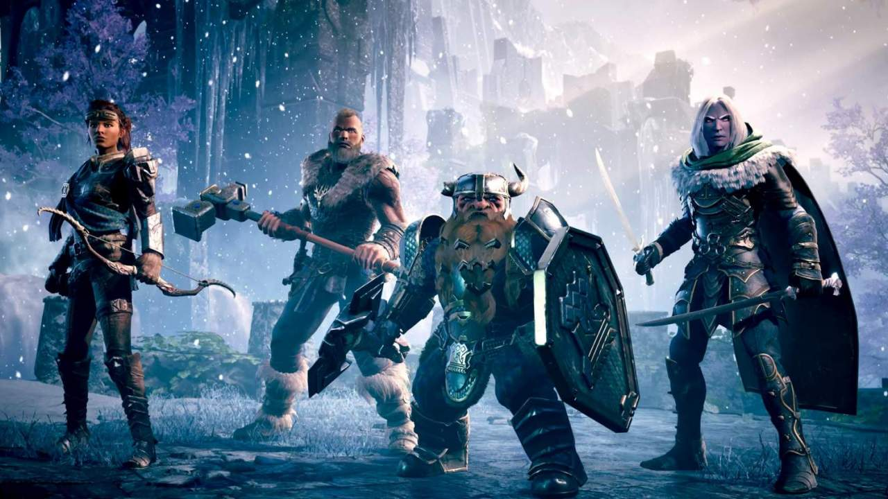 Dark Alliance gameplay trailer serves up plenty of flashy action