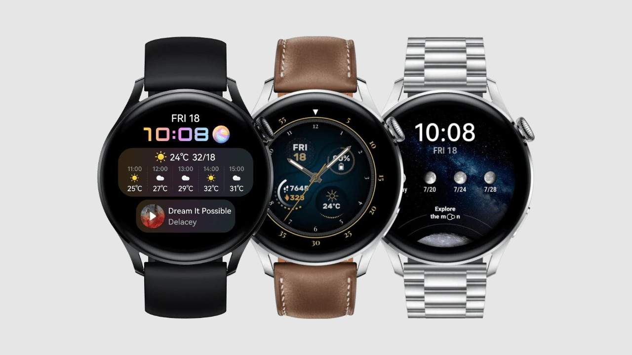 Huawei Watch 3 puts HarmonyOS and LTE on your wrist
