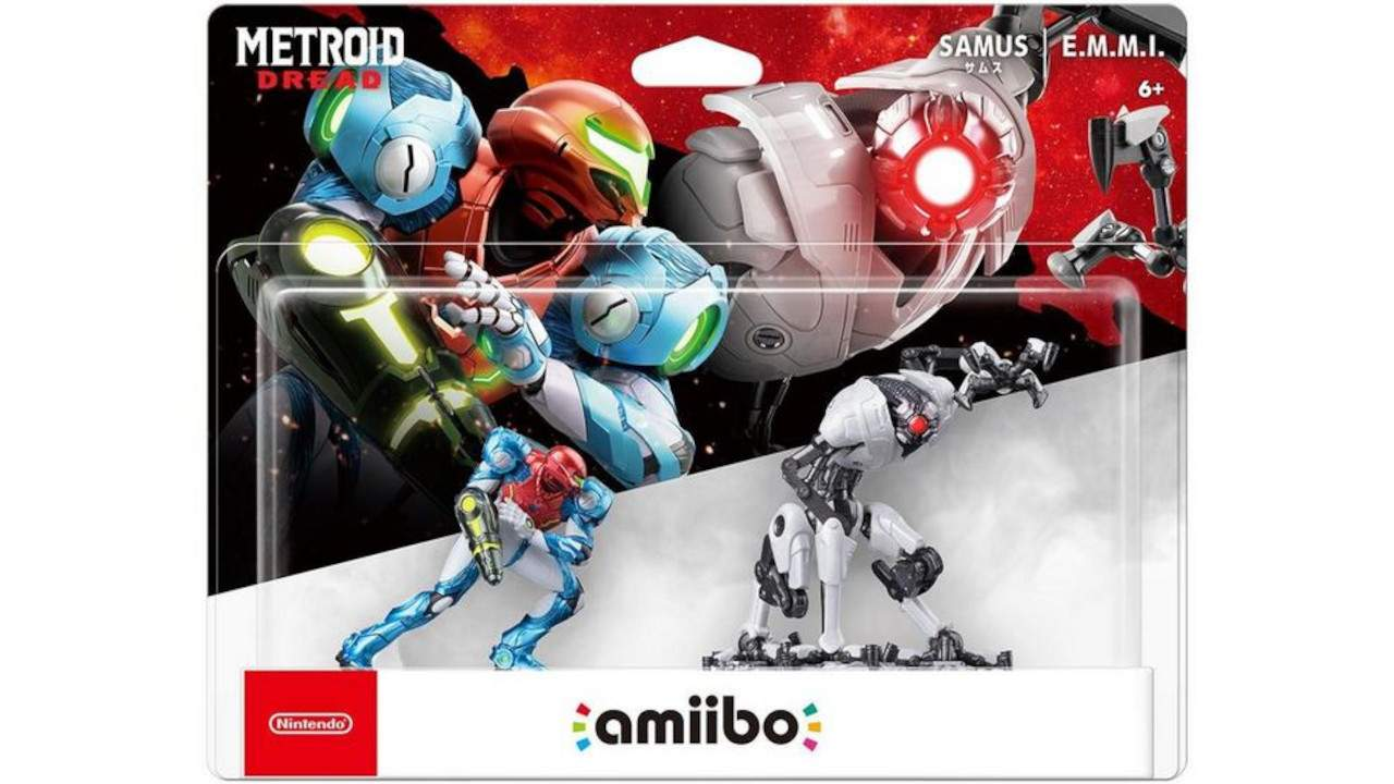 Metroid Dread amiibo grant permanent in-game boosts
