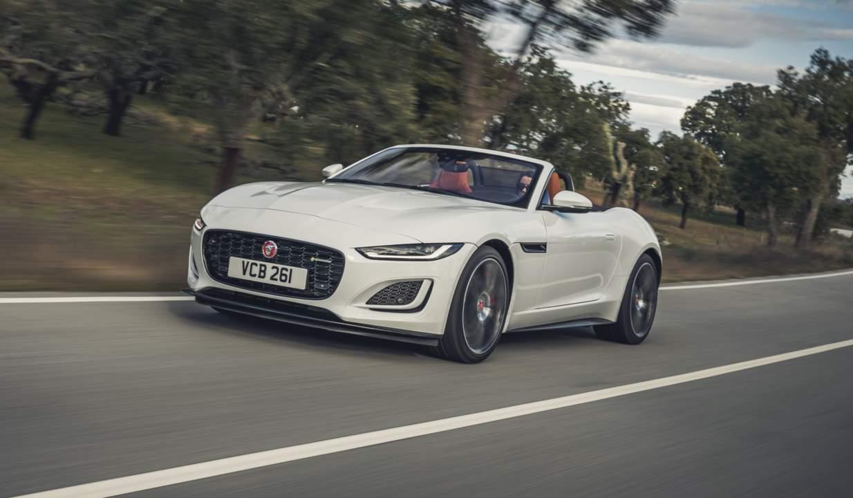 2022 Jaguar F-TYPE debuts a huge supercharger surprise
