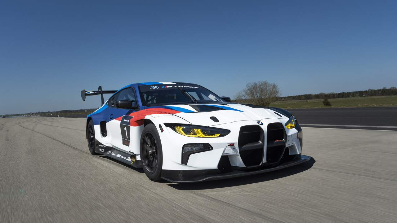 2022 BMW M4 GT3 has 590HP and starts at $530,000