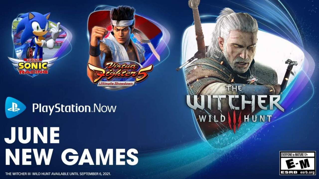 PlayStation Now June update adds The Witcher 3 and Sonic