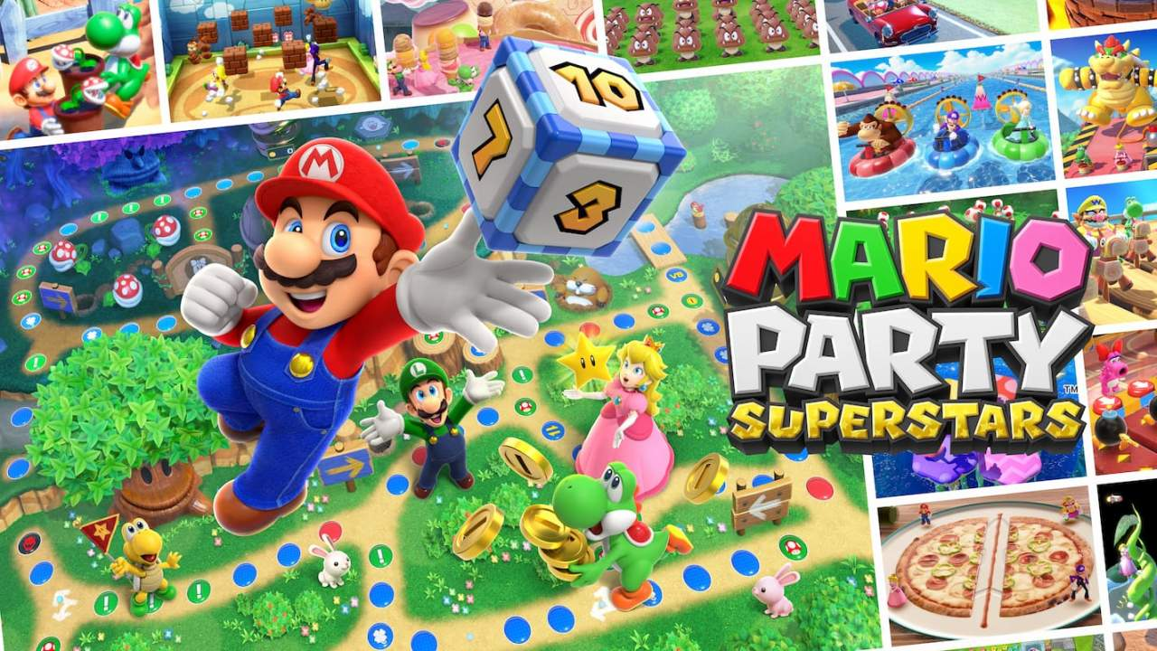 Mario Party Superstars remasters classic boards and minigames for Switch