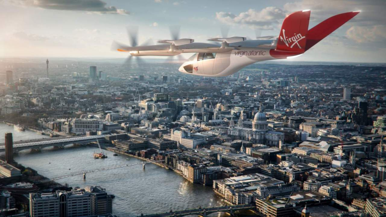 """AA and Virgin Atlantic want this eVTOL aircraft for """"flying taxi"""" city hops"""