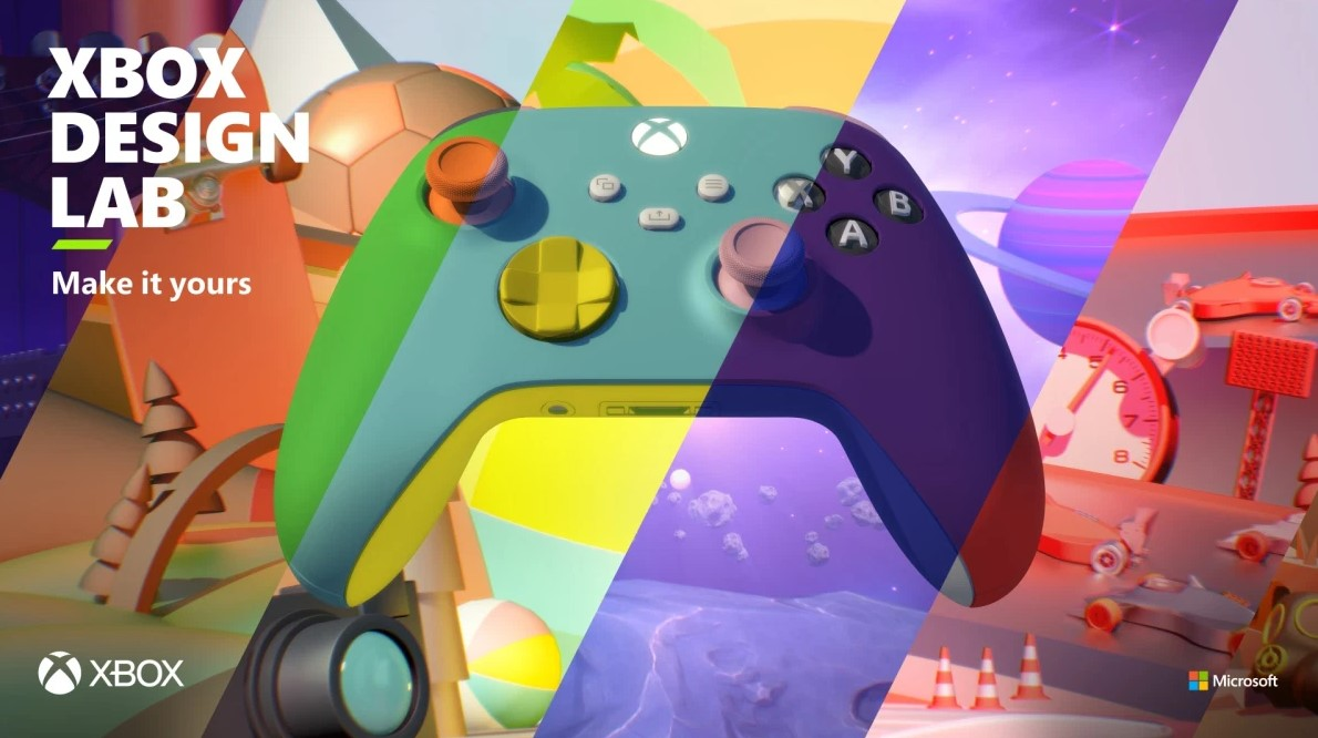 Xbox Design Lab returns with Xbox Series X|S controllers, new customization options