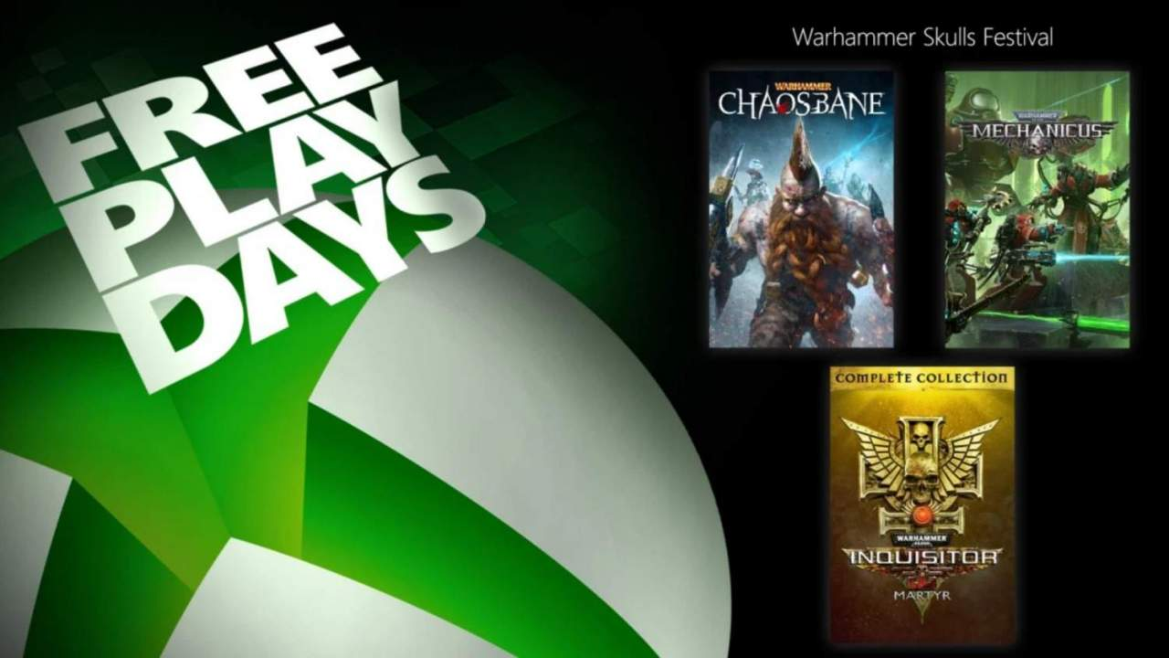 Latest Xbox Free Play Days weekend serves up a ton of Warhammer
