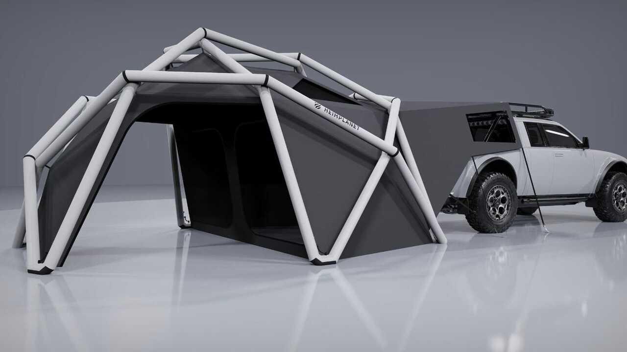 Alpha Wolf+ Cloudbreak has an innovative camper tent from Heimplanet