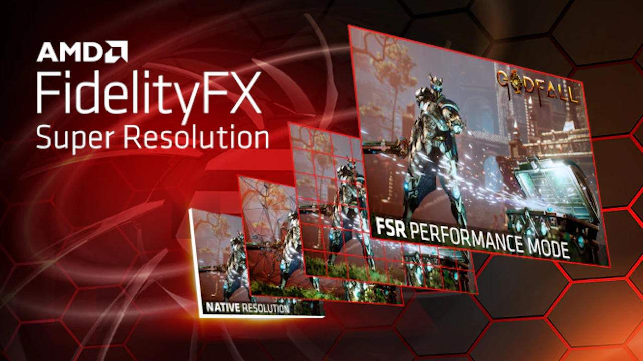 AMD FidelityFX Super Resolution takes on NVIDIA DLSS from a different angle