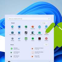 Windows 11 works with Android apps