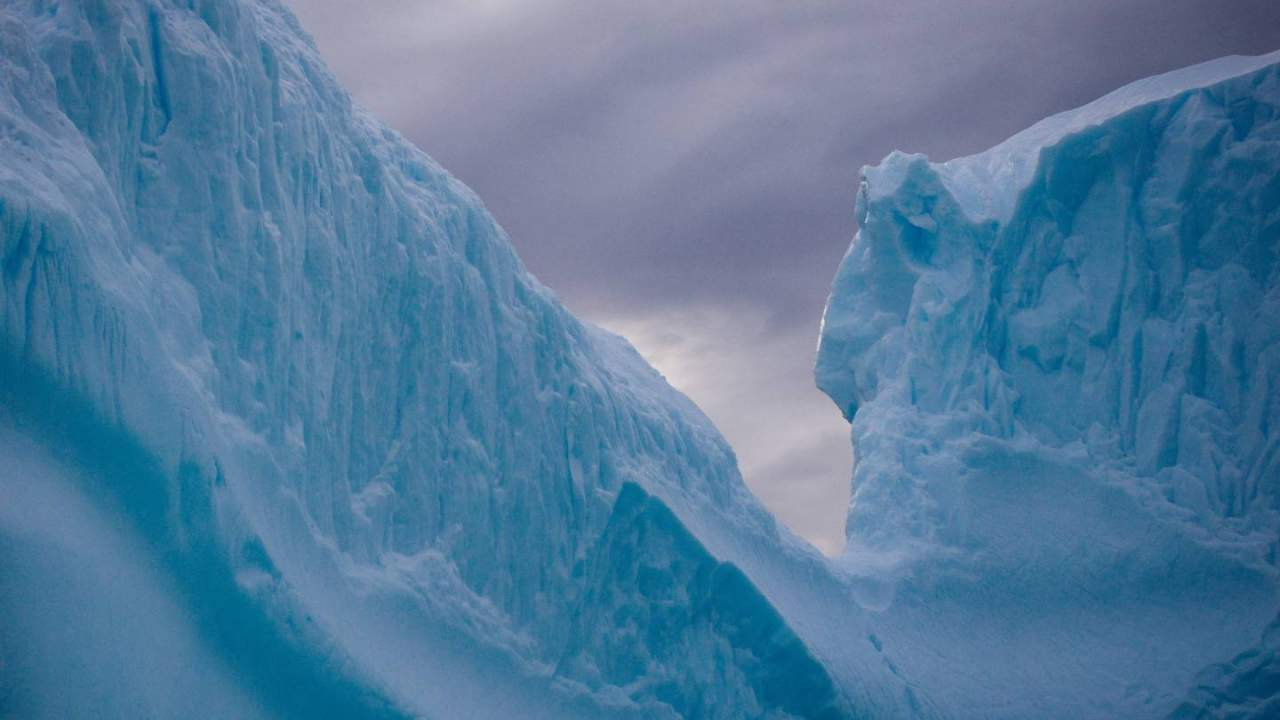 Antarctica's Pine Island Glacier ice shelf is crumbling faster than expected