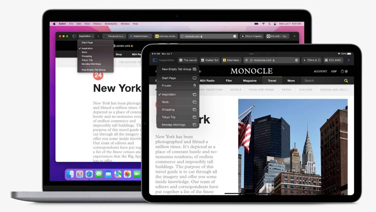 Safari overhaul includes tab groups and web extensions on mobile