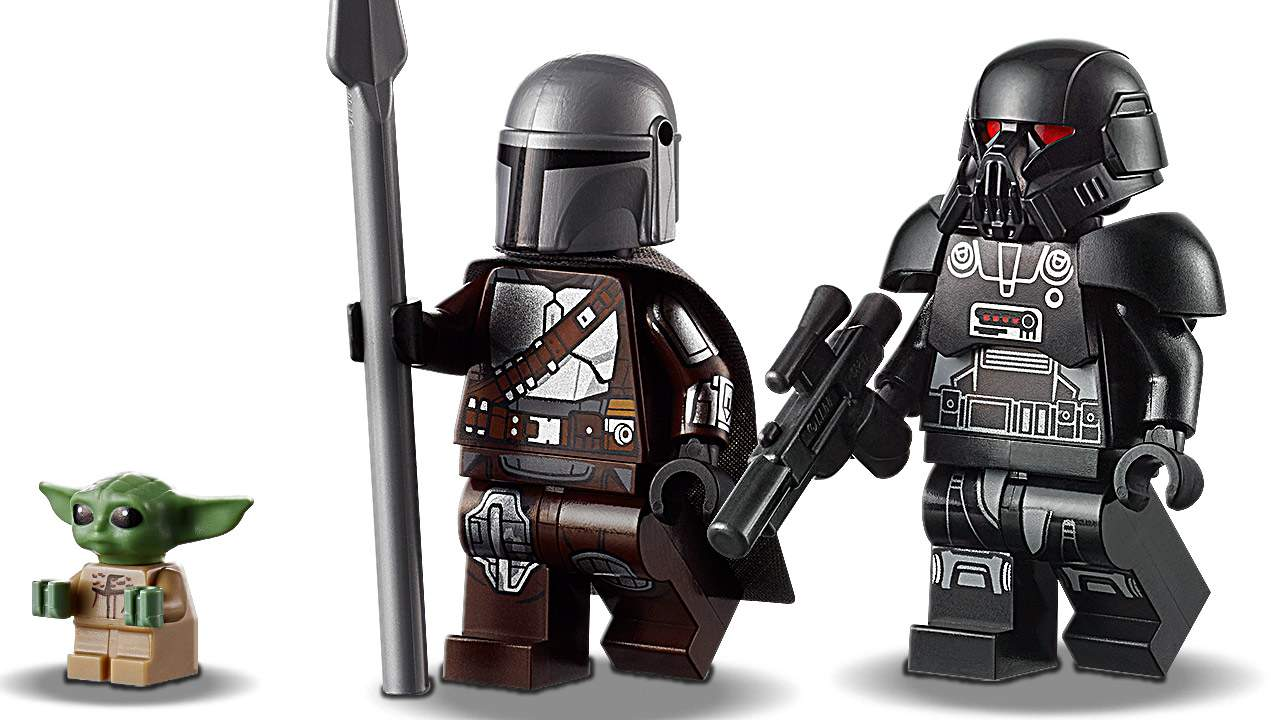 Mandalorian Star Wars LEGO ships bring new Stormtrooper and Dark Trooper