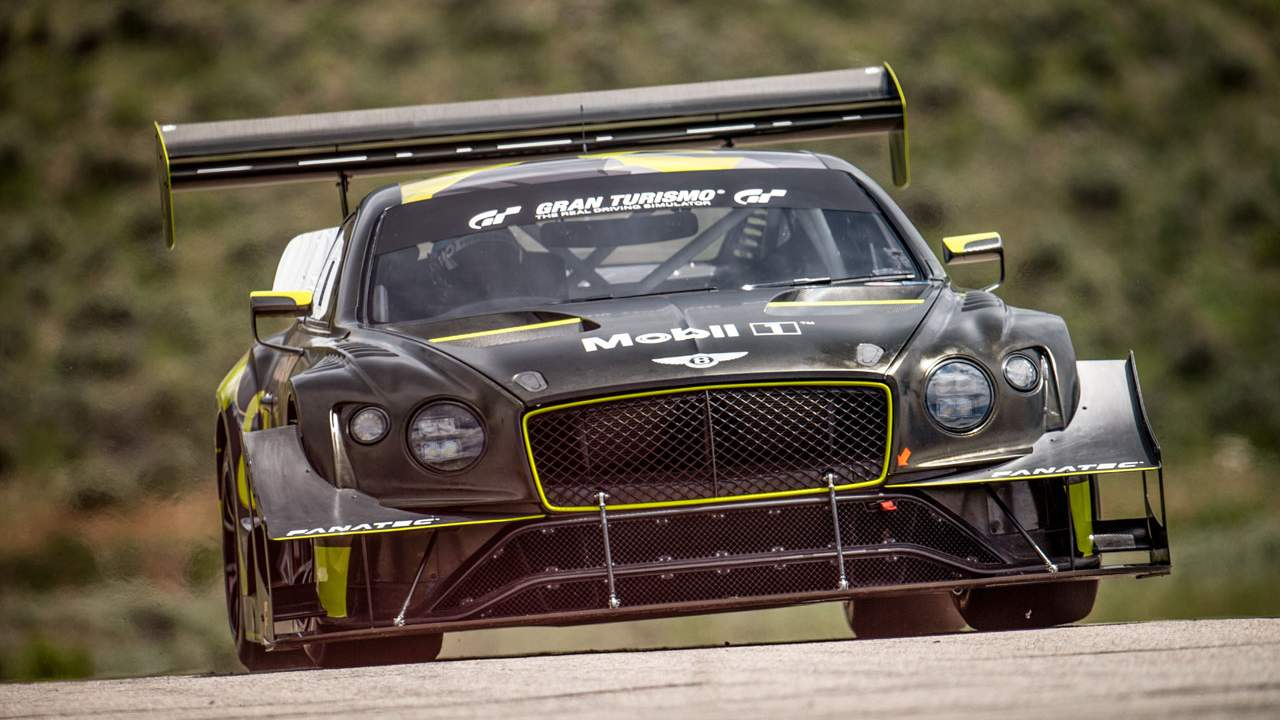 Bentley shows off its awesome Pikes Peak racer