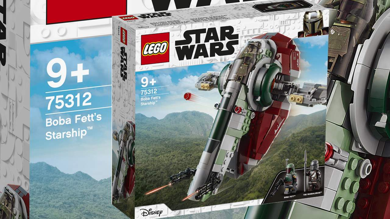 New LEGO Boba Fett's Starship gets Mandalorian and drops the old name