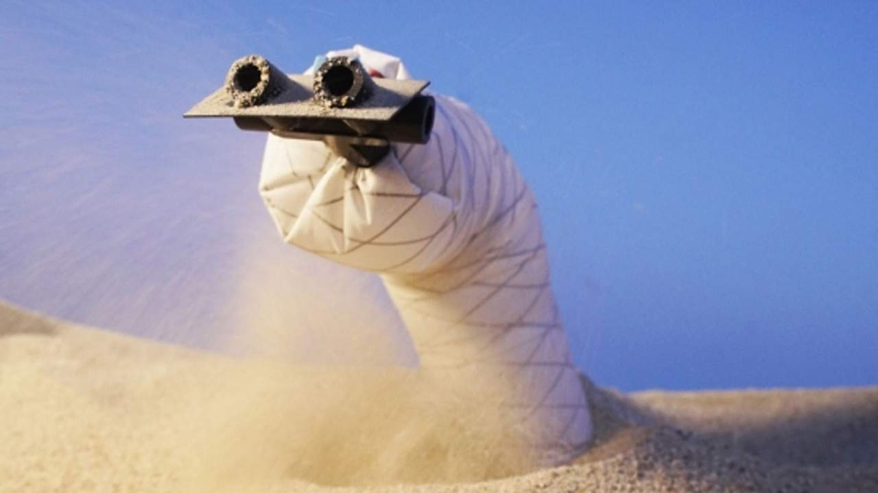 Soft burrowing robot can explore the subterranean world
