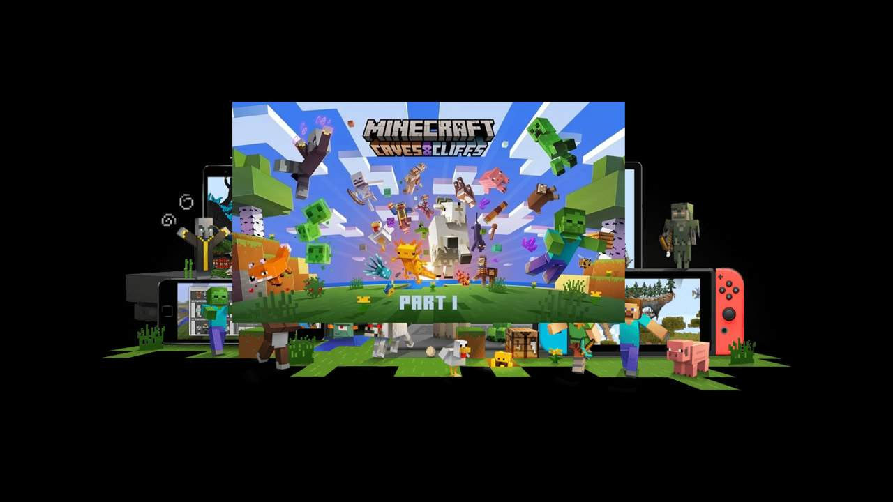 Major Minecraft update released in Caves & Cliffs: How to get it