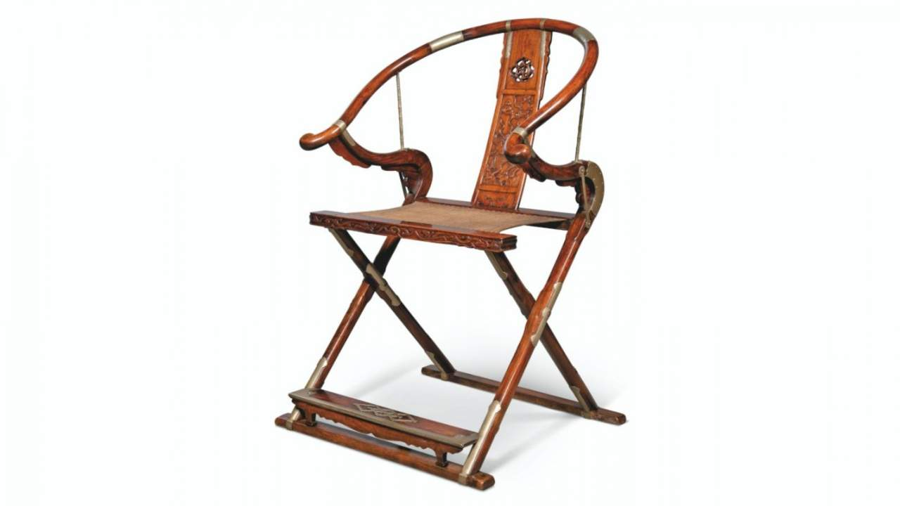 This old, rare wooden folding chair sold at auction for $8.5 million