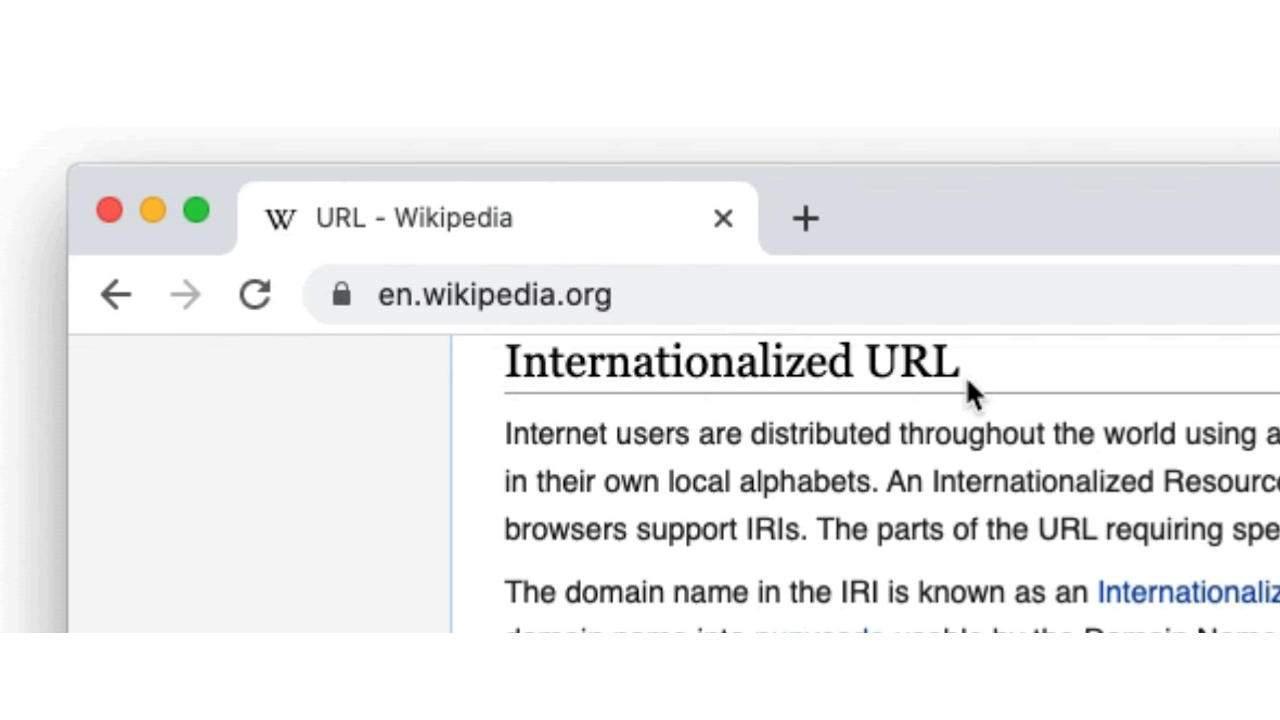 Chrome will no longer try to hide the full address of websites