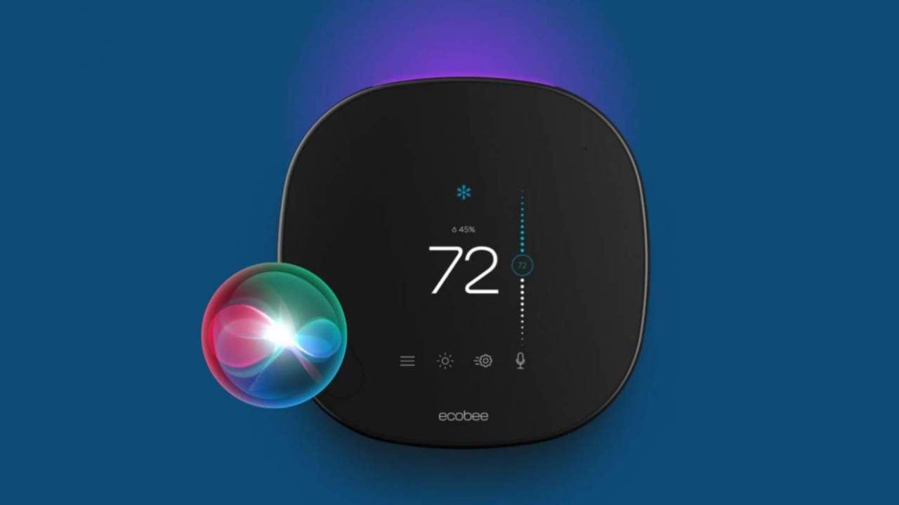 Ecobee SmartThermostat is the first of its kind to get built-in Siri support