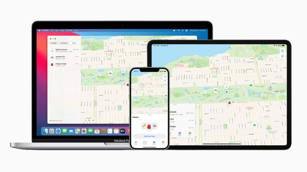 Apple Find My iPhone will work even if the phone is off or erased