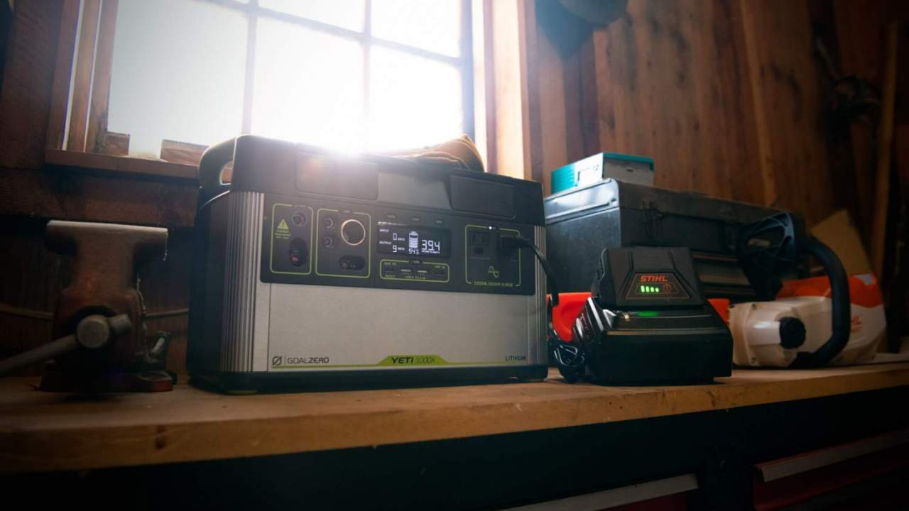 Goal Zero Yeti 1000X is a home battery you'll want to take on roadtrips