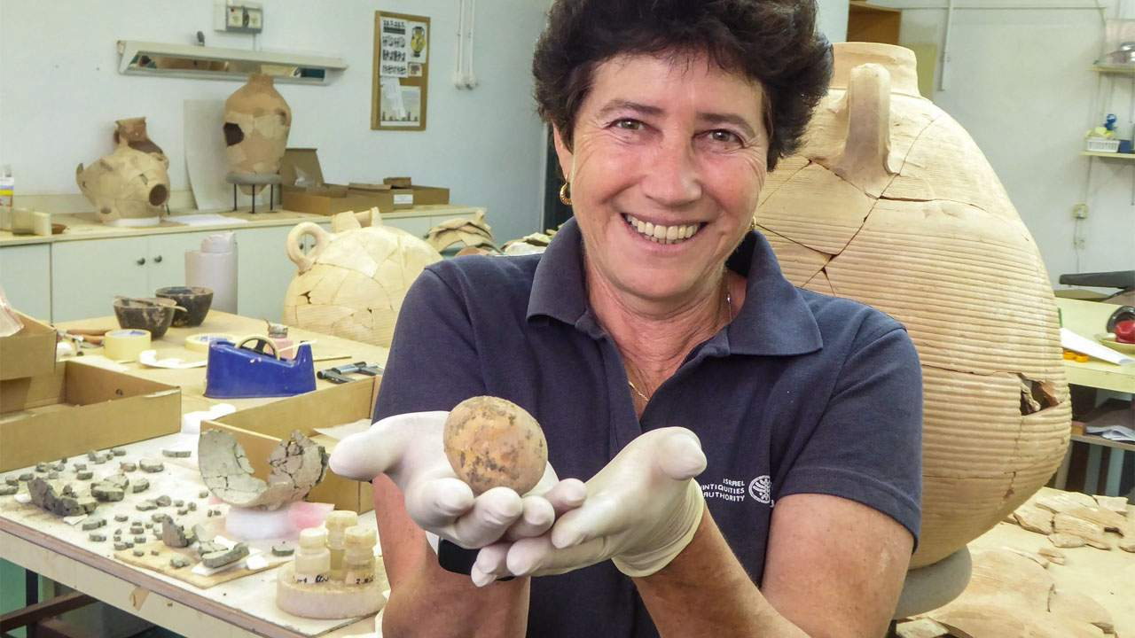 Archaeologists discover a fossilized intact chicken egg in Israel