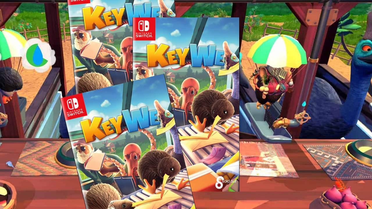 KeyWe game trailer delivers kiwi birds Jeff and Debra