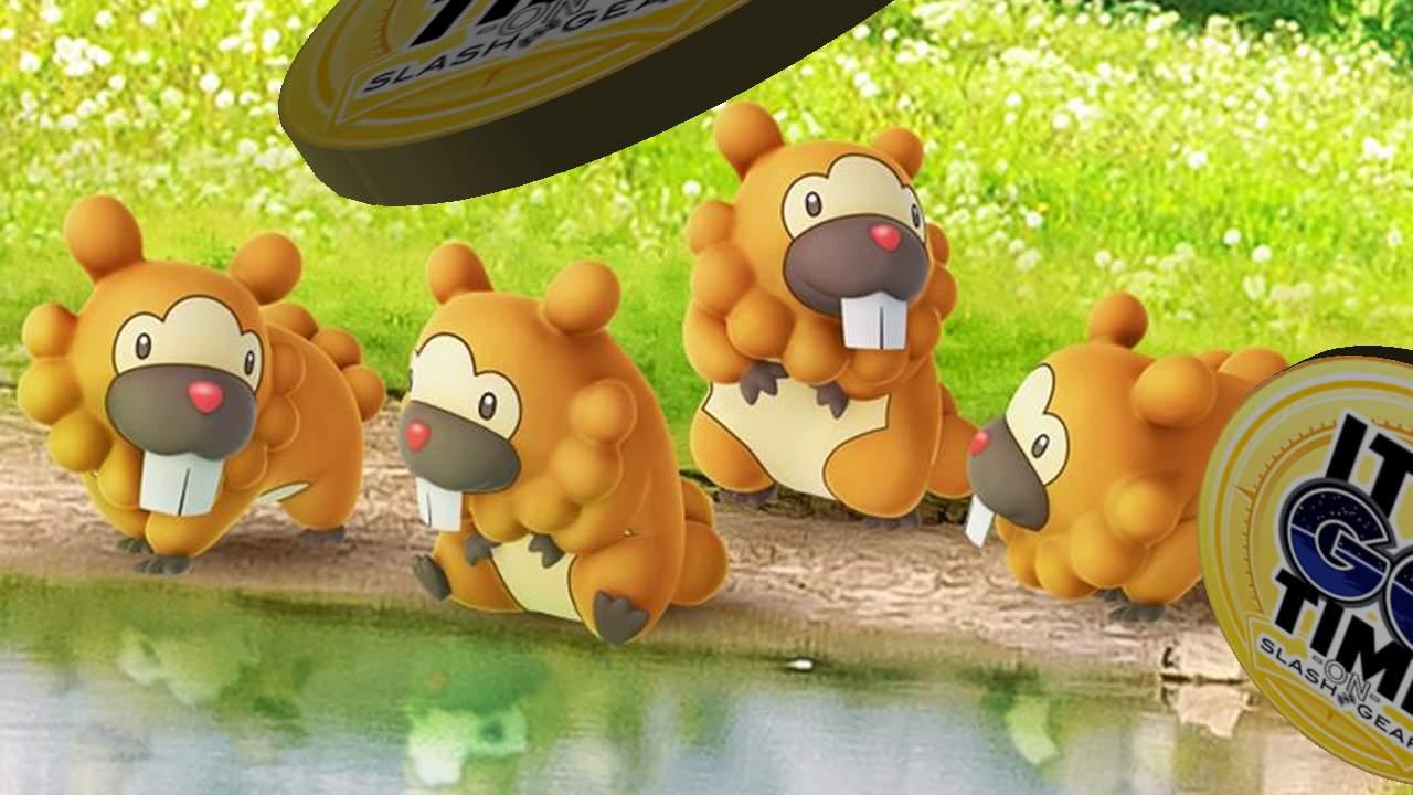 Shiny Pokemon GO Bidoof Breakout detailed – Power Hamster!