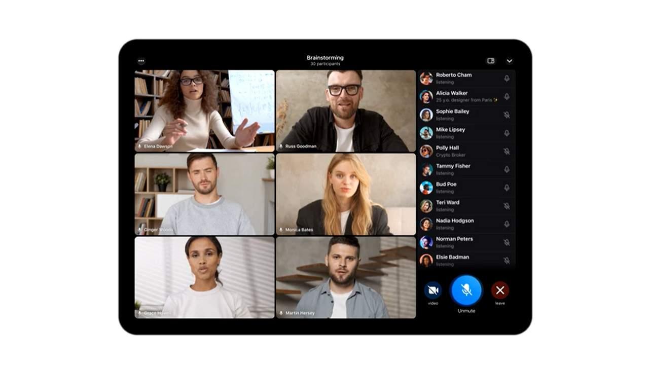Telegram group video calls, screen sharing update released