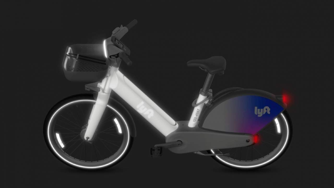 Lyft's first in-house electric bike is reflective and packed full of sensors