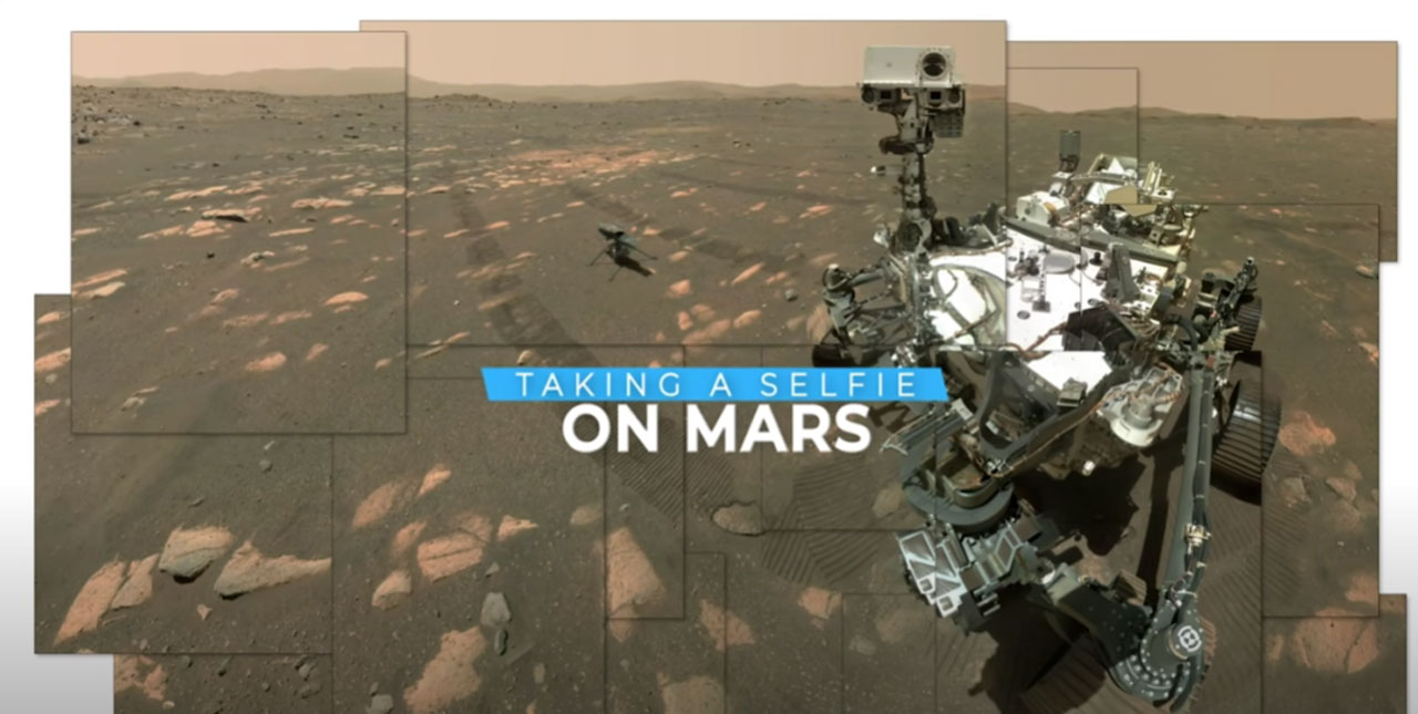 NASA details how the Perseverance Mars rover took a selfie on the Red Planet