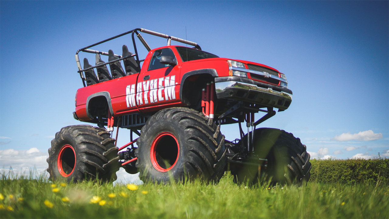 2013 Chevy Silverado monster truck known as Mayhem lands at auction