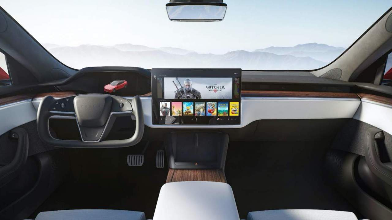 Tesla taps AMD for AAA gaming rig in its most expensive EVs