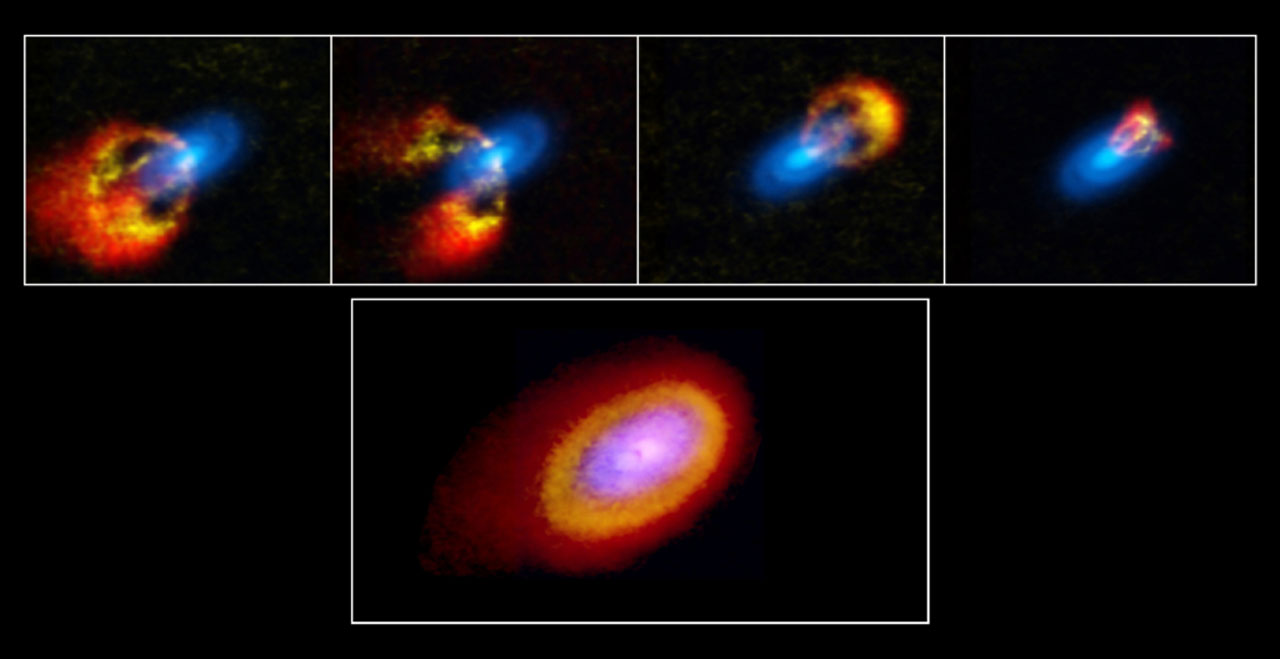 Scientists glean planet formation secrets by studying a young and chaotic star system