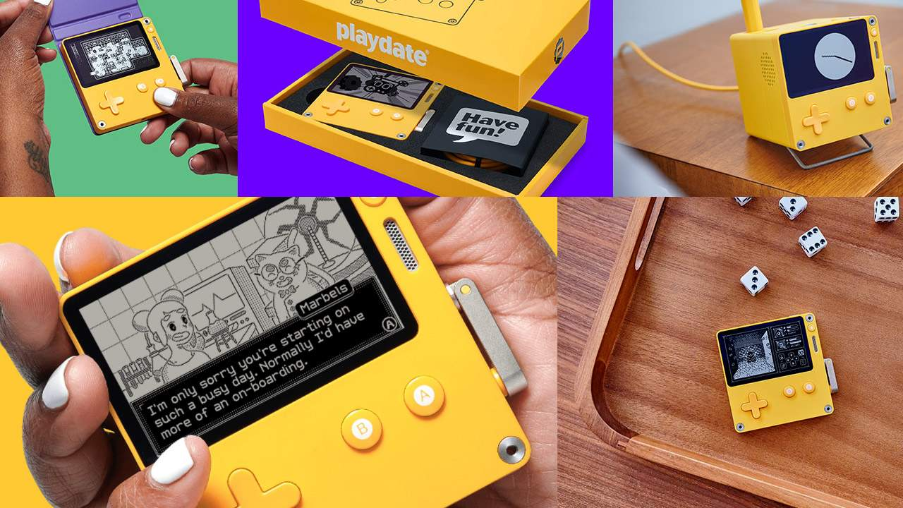 Playdate gets preorder date, games, and a weird new accessory