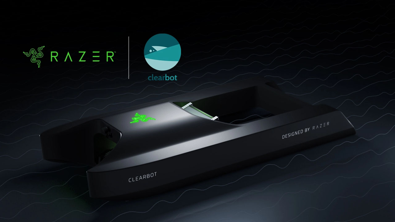 Razer and ClearBot team up to keep the oceans clean