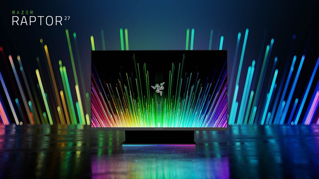 Razer Raptor 27 gaming monitor offers a 165Hz refresh rate
